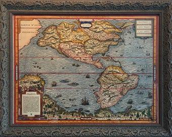 Quarte Partie du Monde by André Thevet (circa 1502-1590)