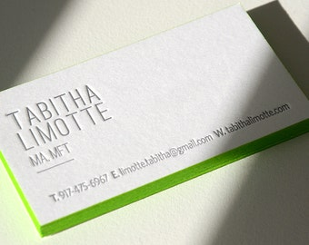 100 letterpress business cards 1 color 1 side rives 400 300 letterpress business cards 1 color 1 side rives 400 gsm paper color reheart Image collections