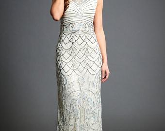 Beaded Flapper Dress