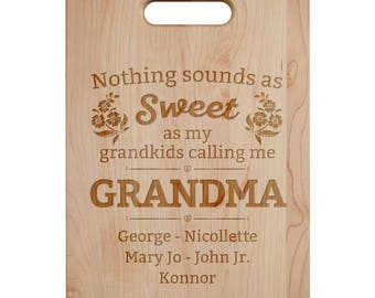 Nothing Sounds As Sweet Cutting Board - Engraved Cutting Board,Personalized Cutting Board, Wedding Gift,Housewarming Gift, Anniversary Gift