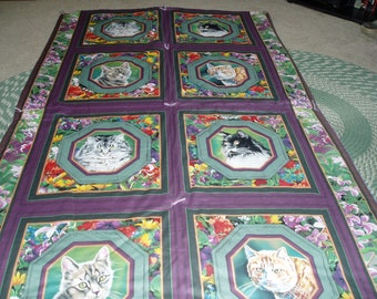Cats Cats and More Cats Throw/Blanket/Quilt