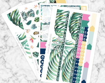 JULY // Happy Planner Monthly Sticker Kit