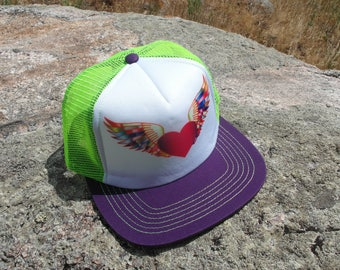 Heart Wings- Kids Trucker Hat. Inspired by Youth and Designed in Colorado!
