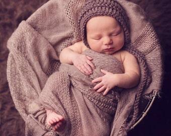 Newborn Props, Newborn Photo Prop, Baby Pixie Hat, Baby Pixie Bonnet, Pixie Hat Baby, Newborn Hat, Newborn Girl, Newborn Boy, Kids Hat, Knit