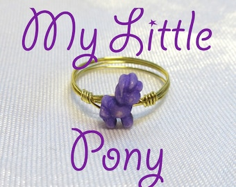 My Little Pony Ring - Midi Ring - Gold or Silver