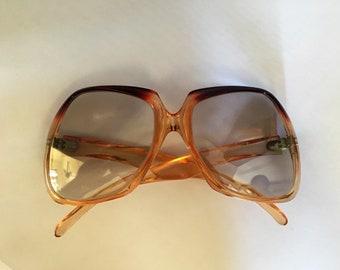 Funky Vintage 'barb glasses' 60's angular sunglasses