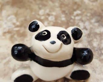Little Guys Ceramic Panda Bear Hug