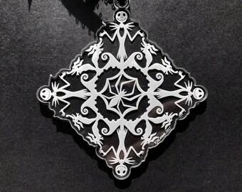 Nightmare Before Christmas Snowflake Ornament