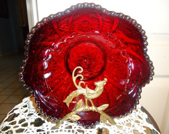 Imperial Carnival Glass Bowl