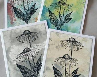 Art Cards - Set of Four