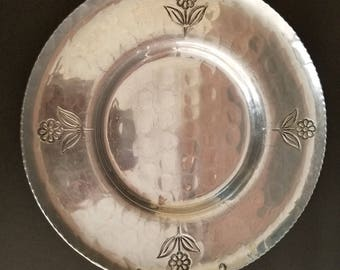 Aluminum Serving Tray with Handles