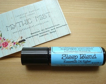 SLEEP Blend, Essential Oil Roller, Essential Oils, Aromatherapy Roller, Sleep Oil, Essential Oil Sleep, Essential Oil, Natural Sleep Aid
