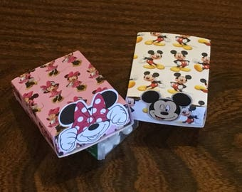 Mickey & Minnie Party Match Boxes - Disney Themed Treat Boxes