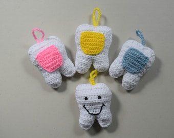Tooth Fairy Pillow - Tooth Pillow - Tooth Holder - Tooth Fairy Pillow Girl - T ooth Fairy Pillow Boy