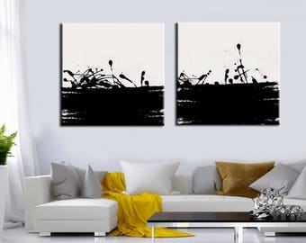 Abstract Painting,  48''x24'' Artist Canvas  Textured Palette Knife Painting,   Ready to Hang