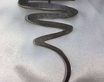 Vintage Sterling Silver Brooch/Pendant