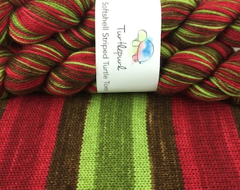 Poison Apple - Hand-Dyed Self-Striping MCN Sock Yarn