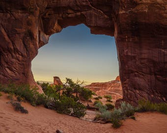 Arches, Devils Garden Red rock , Landscape Photography