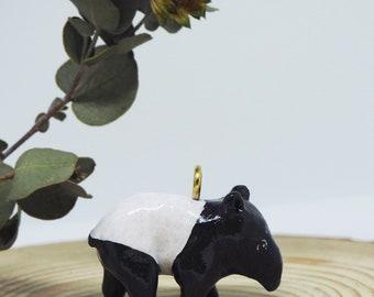 Tapir handmade necklace