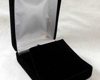 Velvet jewelry box Etsy