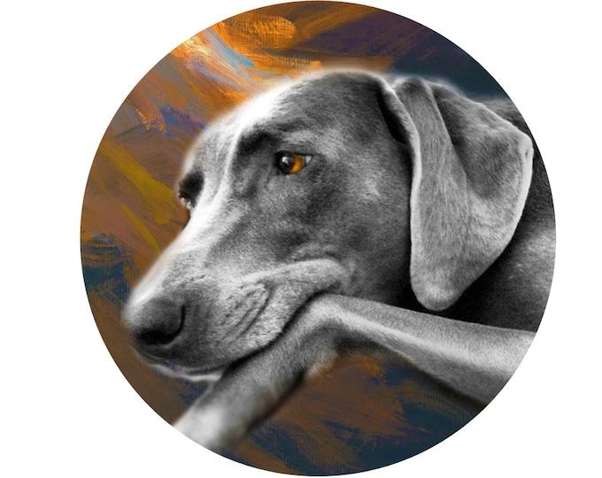 WOOD TABLE Custom Wood Table Dog Art Family Portrait 5th Anniversary Pet Art Table Nursery Decoration