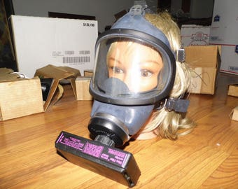 MSA Gas Mask With Ultra Filter Cartridge