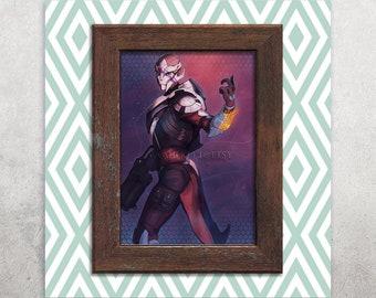 Mass Effect Andromeda / Turian Vetra Nyx 5x7 Print