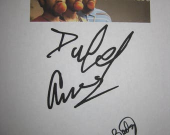 Atlanta Signed TV Pilot Script Screenplay X3 Autograph Donald Glover Lakeith Stanfield Zazie Beetz Signature Funny Sit Com Award Winning