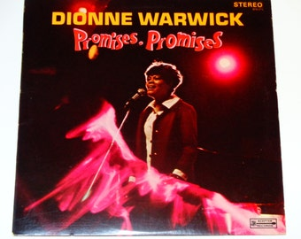 "Dionne Warwick - Promises, Promises - ""This Girl Is In Love With You"" - Pop Soul - Scepter Records 1968 - Vintage Vinyl LP Record Album"