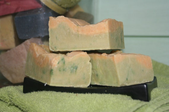 Area 51 Olive & Cocont oil Soap with all Organic Oils