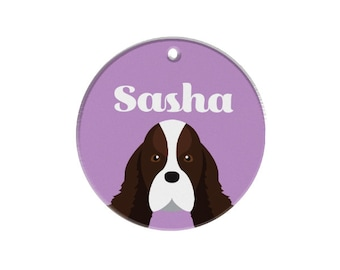 Custom Dog Tags Pet Tags Dog ID Pet ID Tag Springer Spaniel