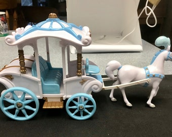 Vintage  Disney Princess  Carriage  and Horse