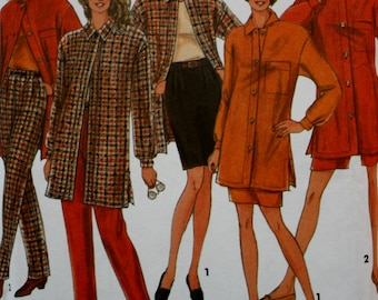 Jacket /Skirt/ Pants Sewing Pattern/ Simplicity 8078