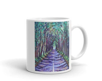 Mug - Kauai Tree Tunnel - 11 oz. or 15 oz.