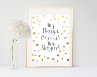 Print and Ship My Order
