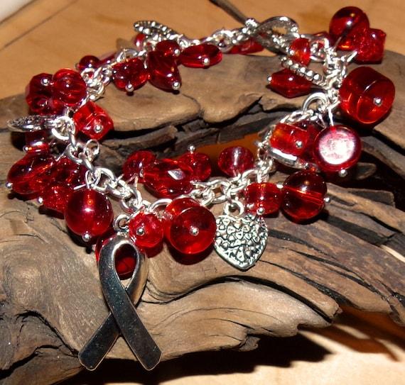 Red Awareness Bracelet