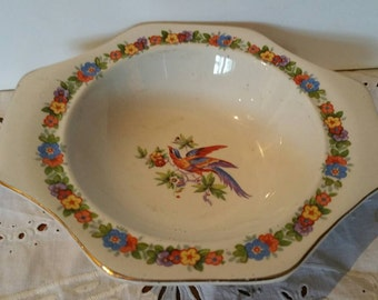 5 Solian Ware By Soho Pottery Cerial bowls 1913 - 1930