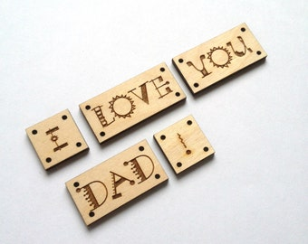 Cute Laser cut Words & Phrases / Wood charms / Wood word art / Wood words signs / Handmade wood signs / Crafts handmade / Crafts for sale