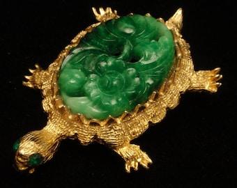 Turtle Pin Vintage Dodds Figural