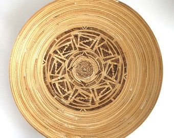 Bamboo Platter No.2 Southwestern Design