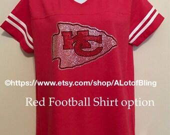 Kansas City Chiefs Rhinestone T-Shirt