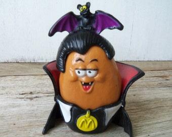 McDonalds McNugget Vampire Happy Meal Toy   Halloween  Dracula