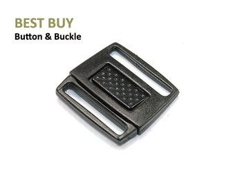 "10 pcs Plastic Center Release Buckles 1""  #PH329"
