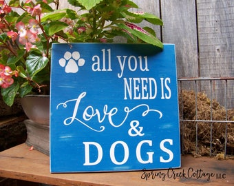 Dogs, Handpainted Wood Signs,  Handpainted, Pets, Dog Signs, Home Decor, Dogs, Gifts For Pet Lovers, Home Decor, Rustic, Personalized,