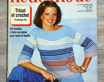 Magazine knitted Neue Mode 4304 - spring (Vintage)