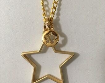 """Kette """"Super Star"""" goldig"""
