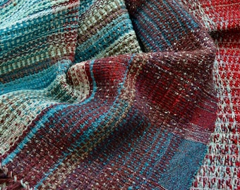 Hand Woven Merino Throw