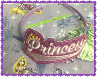 Princess Glitter Headband