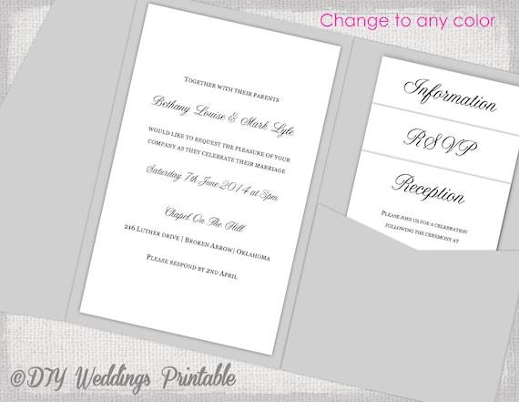 5x7 invitation templates
