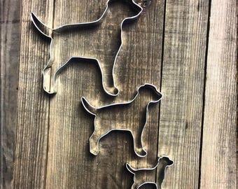 Set of 3 Labrador Retrievers Cookie Cutters #NAWK158